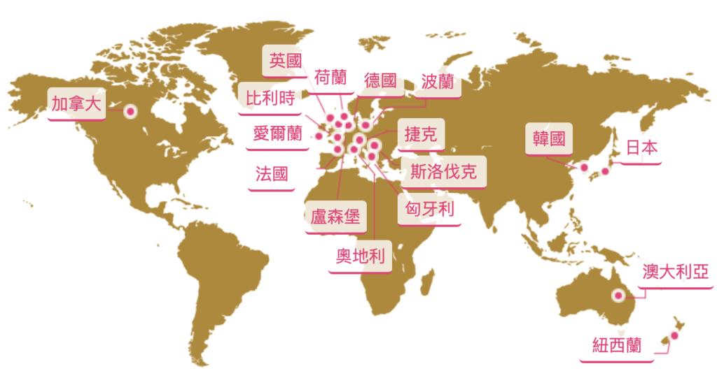 台灣可以去的打工度假國家